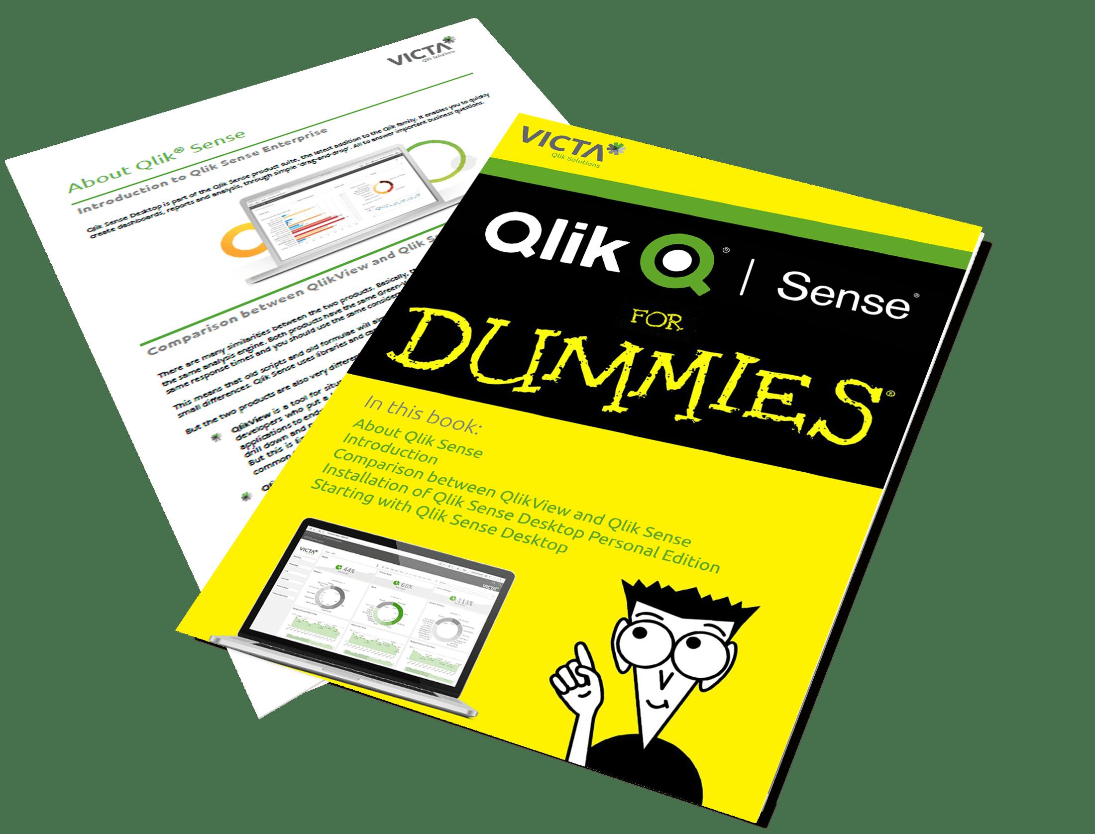 Qlik Sense for Dummies - Victa Business intelligence