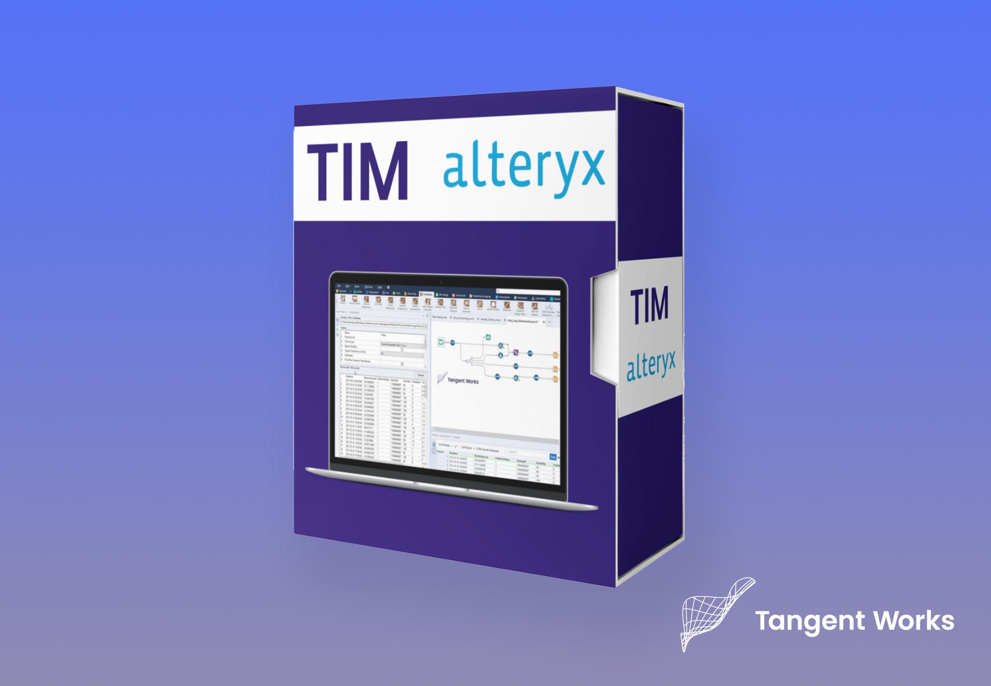 TIM & Alteryx: een krachtige combinatie