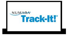 Track-IT logo Victa